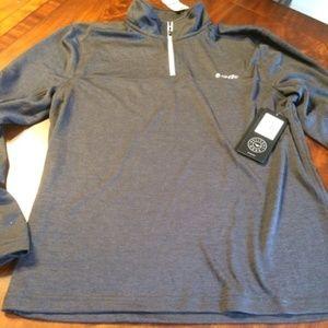 Men's Hi-Tec Half Zip Pullover Shirt - M